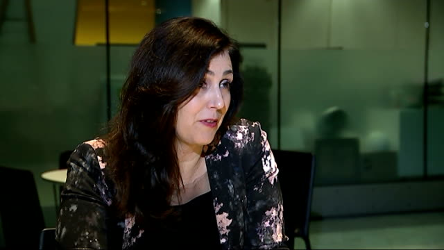london black cabs to offer cheap fares until the end of the year; england: london: int baroness joanna shields interview sot - technology is... - baroness stock videos & royalty-free footage