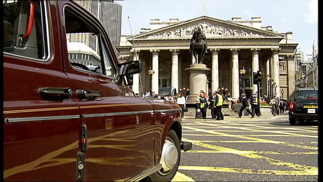 Black cabs v Mini cabs ITN ENGLAND London Wass being told there are no cabs available after trying number DAY Black taxis protesting against...