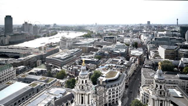London Blackfriars and Thames River