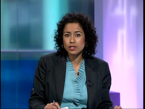 channel 4 news special 1930 2000 england london gir int samira ahmed i/c england london ext people walking along road because of lack of public... - channel 4 news stock videos and b-roll footage