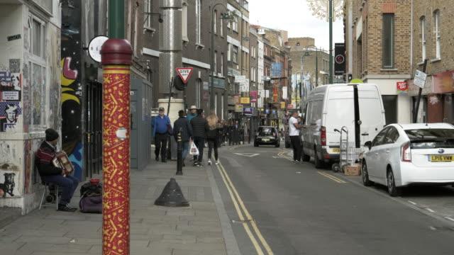 London Brick Lane Street Scene