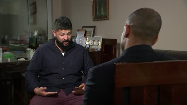 brother of ringleader says he called counterterror hotline two years before the attack close shot of iphone with broken screen being turned on usman... - apple computer stock-videos und b-roll-filmmaterial