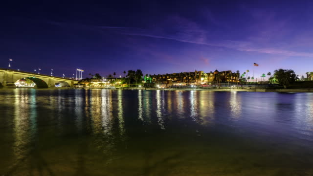 London Bridge Lake Havasu Arizona Time-lapse