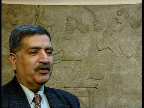 London British Museum INT Muayad Damerji interview SOT continued PAB = D0529157f6