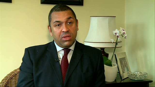 london businesses to be fined for repeated false alarm calls london int james cleverly interview sot - emergency planning stock videos & royalty-free footage