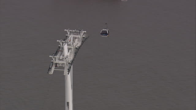 london cable car - overhead cable car stock videos and b-roll footage