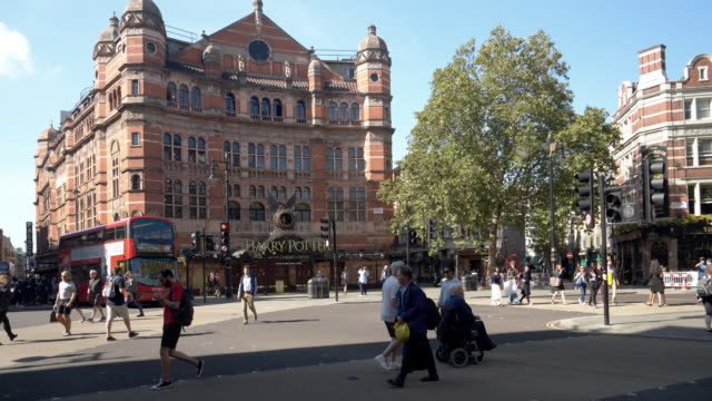 london cambridge circus - sign stock videos & royalty-free footage