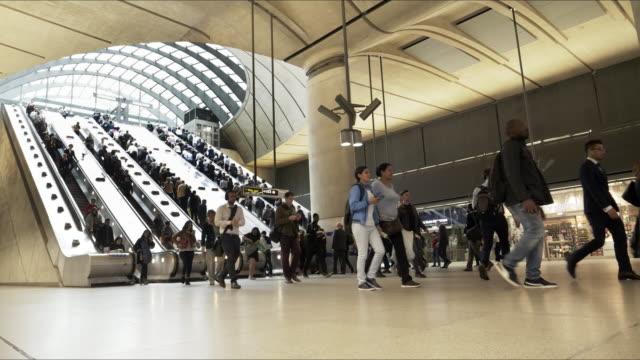 U-Bahnstation London Canary Wharf