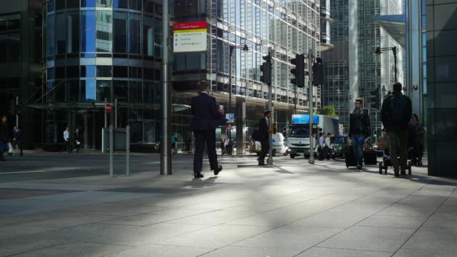 ロンドンのカナリー・ワーフ(UHD)Upper Bank Street