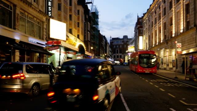 London Catherine Street At Night (4K/UHD to HD)