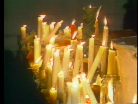 london citizens light candles at a protest commemorating the chinese massacre at tiananmen square. - crime or recreational drug or prison or legal trial stock videos & royalty-free footage
