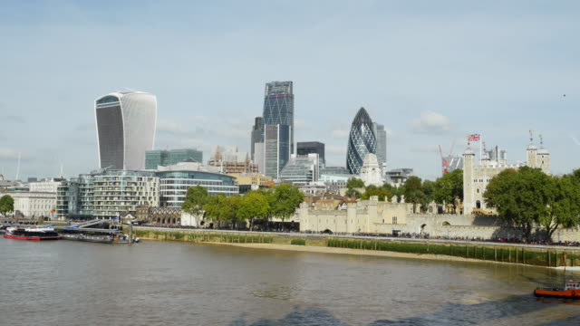 London City And Tower From The Southeast (UHD)