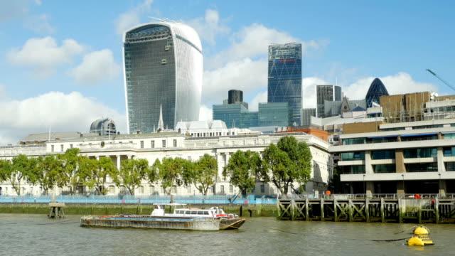 POV London City Custom House und Financial District