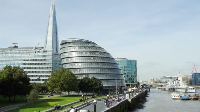London City Hall And The Shard (UHD)