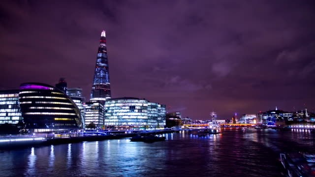 HD TIME LAPSE: London City Hall At Dusk