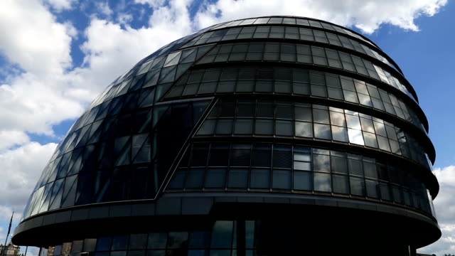 london city hall time lapse - town hall stock videos & royalty-free footage