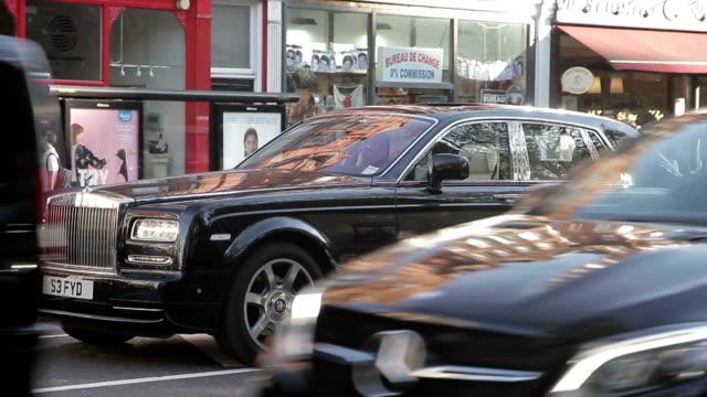 london city - prestige car stock videos & royalty-free footage
