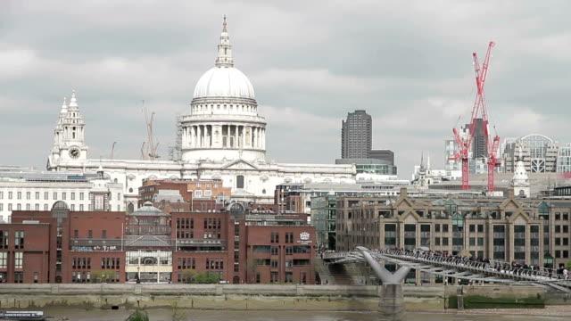 london city - moschea video stock e b–roll