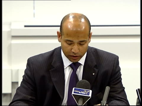 cms detective superintendent neil bafu press conference sot this was an assassination - assassination stock videos and b-roll footage