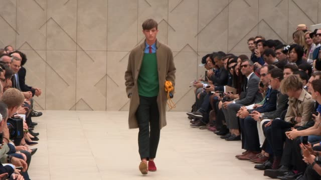 Men Burberry EVENT CAPSULE CLEAN London Collections Men Bu on June 18 2013 in London England