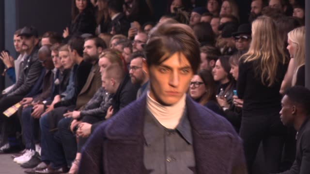 london collections men topman design a/w 2015 at old sorting office on january 09, 2015 in london, england. - fashion show stock videos & royalty-free footage