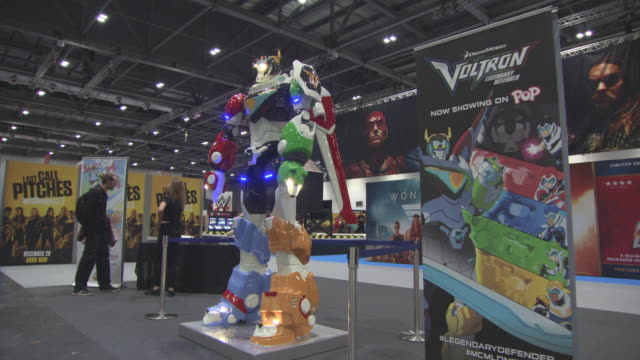 London Comic Con at ExCel on October 27 2017 in London England