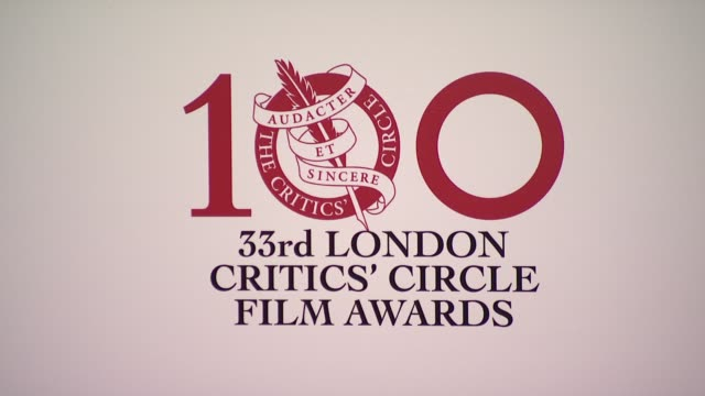 clean london critic circle awards at may fair hotel on january 20 2013 in london england - event capsule stock videos & royalty-free footage