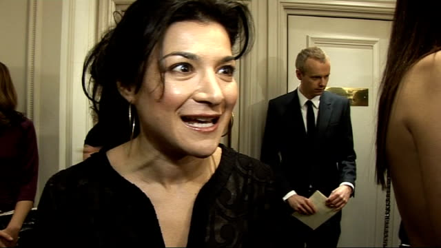 London Critics' Circle Film Awards 2009 Celebrity interviews Alexis Zegerman interview SOT On the film 'Happy Go Lucky' and not being nominated by...