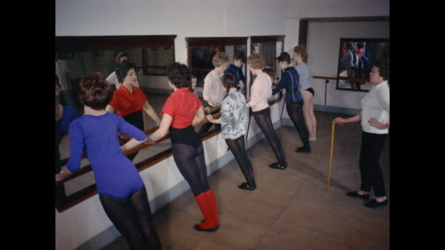 1961 - london - dance studio - dance studio stock videos and b-roll footage