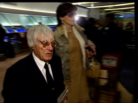 bernie ecclestone and his wife slavica ecclestone at airport - bernie ecclestone stock videos & royalty-free footage