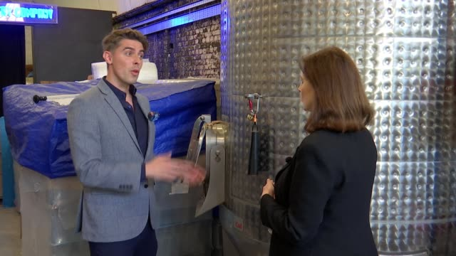 london distillery company produces london's first whiskey in a century uk london london distillery company distillery interior equipment and workers... - distillery still stock videos and b-roll footage