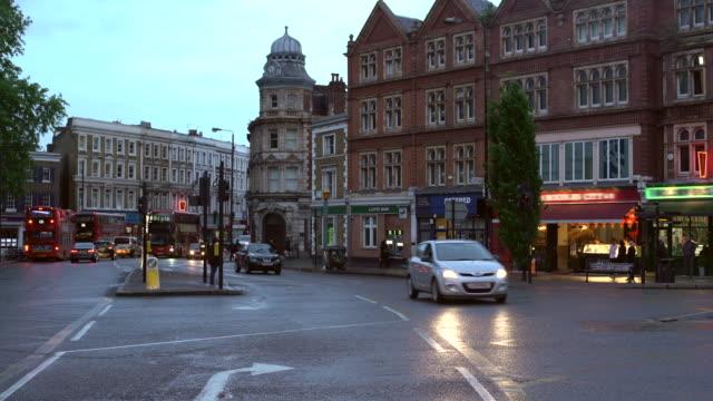 vidéos et rushes de london downtown, time lapse - trafalgar square