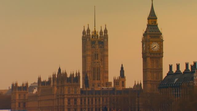 London, EnglandBig Ben and Westminster Abbey