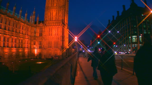 london, englandbig ben at night - unknown gender stock videos & royalty-free footage