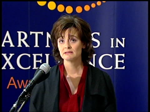 london cherie blair statement sot in view of controversy around me at moment i hope you won't mind me using this event to say few words/ you can't... - superwoman stock videos and b-roll footage