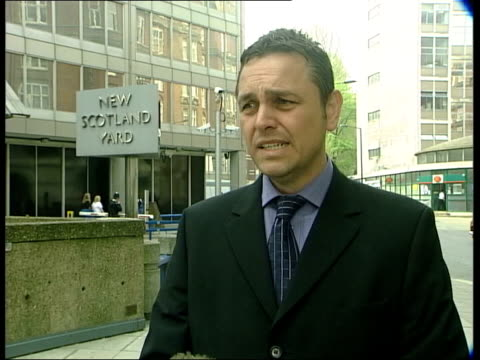 detective superintendent simon morgan interview sot - talks of crimes committed by rapist - detective stock videos & royalty-free footage