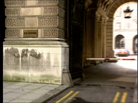 london gvs treasury building - financial building stock videos and b-roll footage