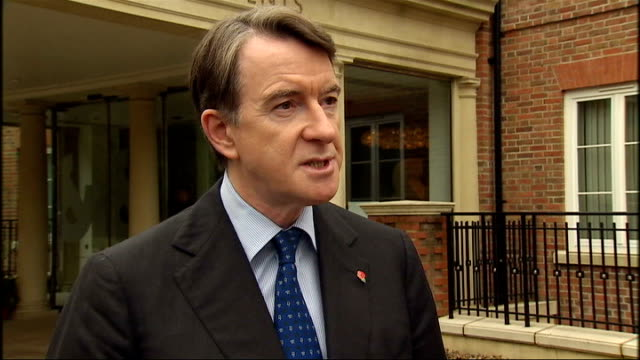 London EXT Lord Mandelson interview SOT Possible technical measures that can be invoked if every other way to enforce the law has failed