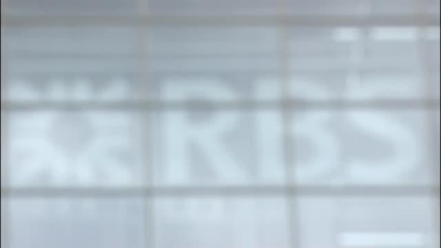 royal bank of scotland sign - banking sign stock videos & royalty-free footage