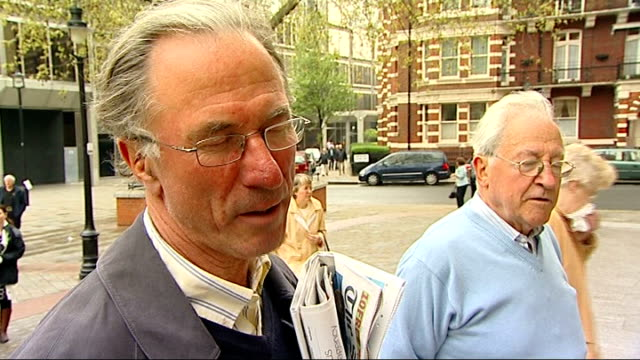 vox pop with catholic leaving mass at westminster cathedral - westminster cathedral stock videos & royalty-free footage