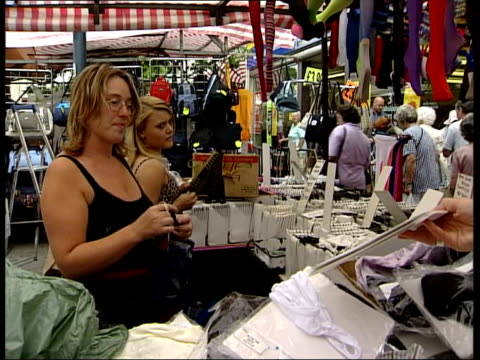 england london vox pops market traders on cricket players image change - channel 4 news stock videos & royalty-free footage