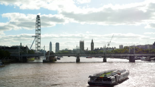 London Eye And Westminster Viewed From The Northeast (UHD)