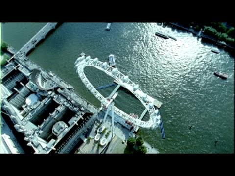 London Eye, Ferris Wheel, Landmark, Rotation, MS, England, UK