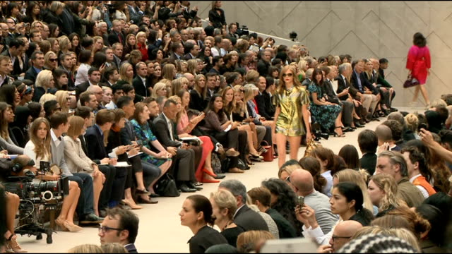 London Fashion Week Burberry Spring / Summer 2013 Show General view of Burberry Spring Summer 2013 Show / general view of front row