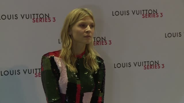 louis vuitton series 3 collection arrivals douglas booth / lily cole / clemence poesy / jean campbell / alicia vikander / michelle williams / tanya... - michelle williams actress stock videos and b-roll footage