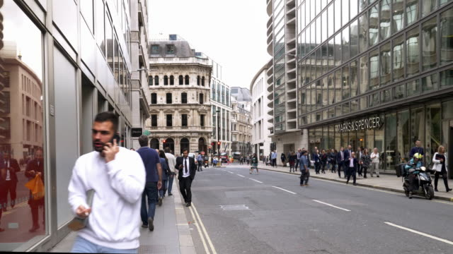 London Fenchurch Street at Midday