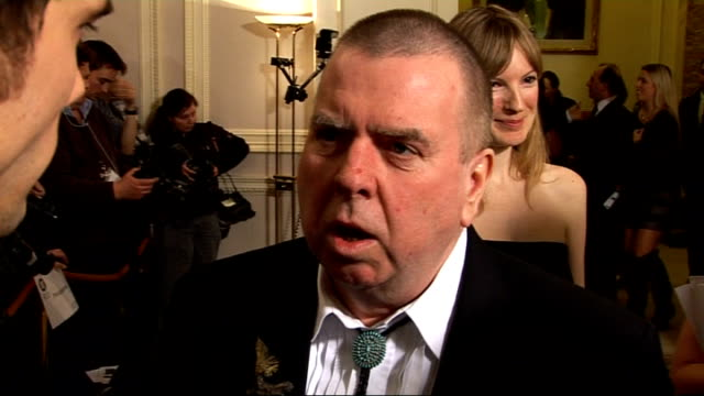 London Film Critics' Circle Awards 2010 arrivals interviews and winners' press conference Anne Marie Duff photocall Timothy Spall interview SOT On...