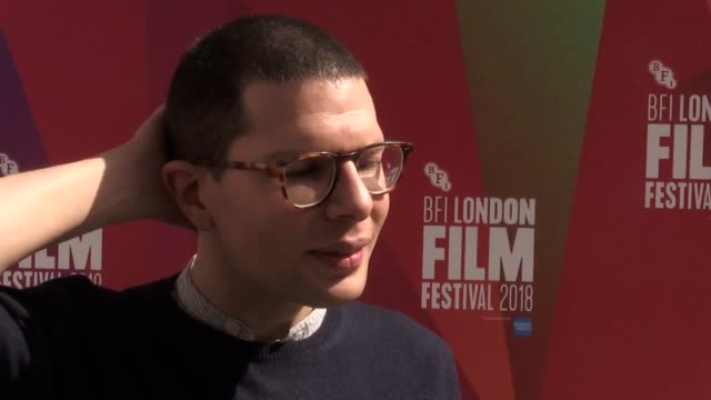 bfi london film festival 2018 reveal half of the films in the festival's competition are from a female director includes interviews with lenny... - lenny abrahamson stock videos and b-roll footage