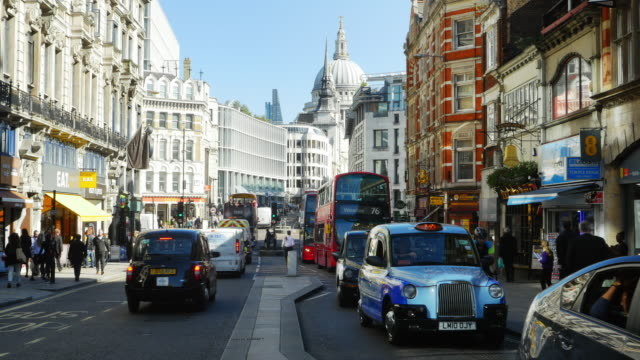 London Fleet Street And Ludgate Hill (4K/UHD)