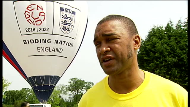 london football clubs back world cup 2018 bid england surrey cobham ext general views of young men playing in matches in the london united community... - cobham training ground stock videos and b-roll footage